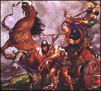 Picture - Willy Pogany: Cuchulainn