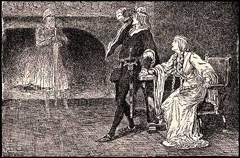 Picture: Hamlet, Gertrude, and the Ghost, 1915