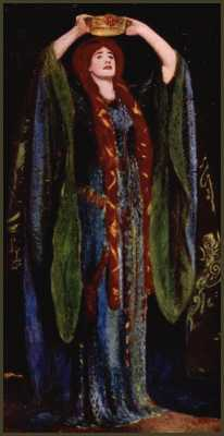 Picture: Sargent - Miss Ellen Terry as Lady Macbeth