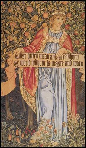 [Picture: Tapestry by William Morris]