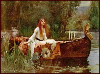 the lady of shalott essay Alfred lord tennyson wrote the lady of shalott in 1832 tennyson was known for his visual aspect and was able to create images that.
