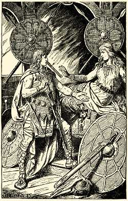[Picture: Siefried and Brunhild]