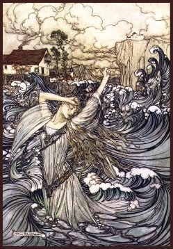 Picture: Undine by Rackham